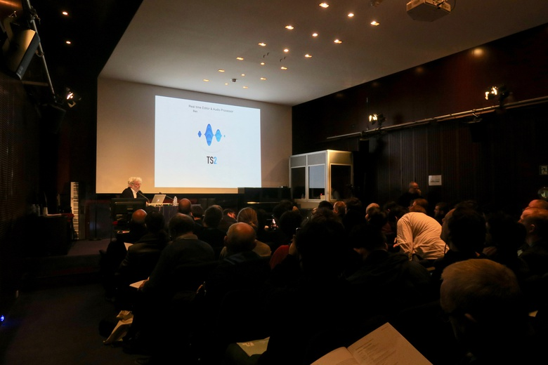 TS2 introduction by Frederick Rousseau  © IRCAM Forum