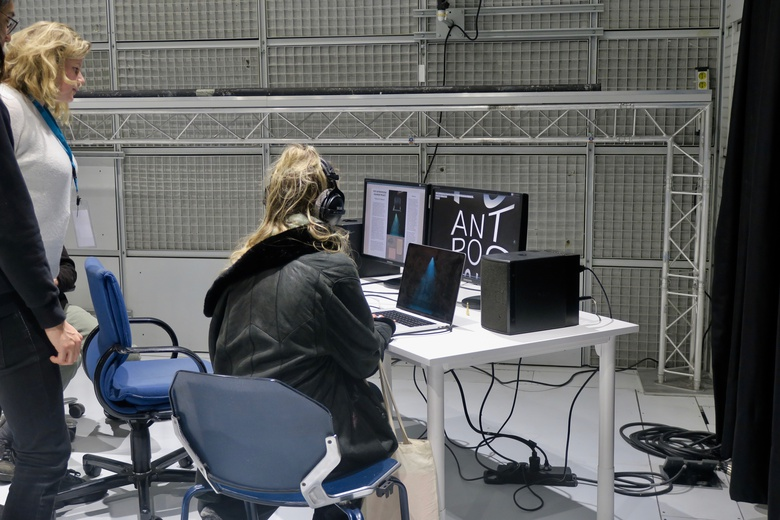 Space dedicated to Royal College of Arts students  © IRCAM Forum