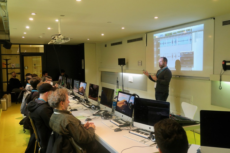 iZotope Workshop with Steven Ghouti (Yellow Cab Studios)  © IRCAM Forum